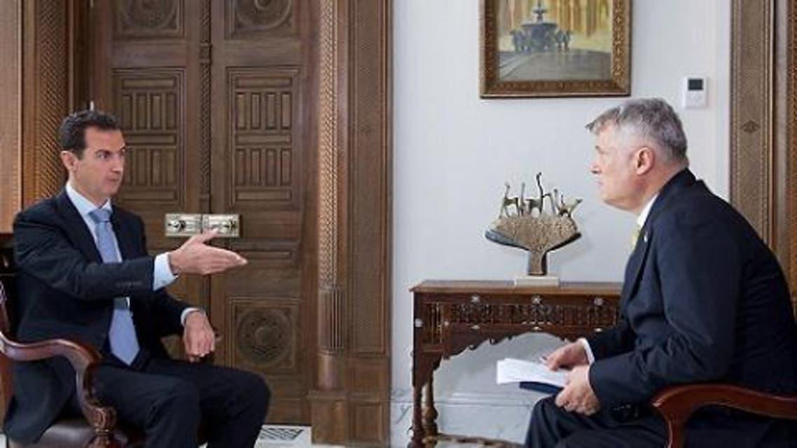 الأسد في حواره لصحيفة بوليتكا الصربية