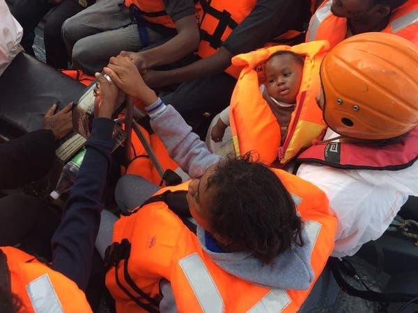 إنقاذ أكثر من 1400 مهاجر في المتوسط