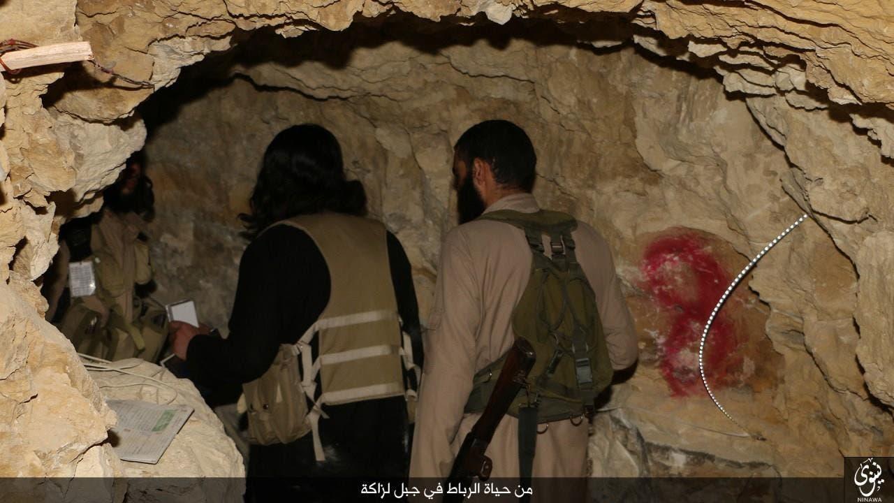 أنفاق داعش في الموصل
