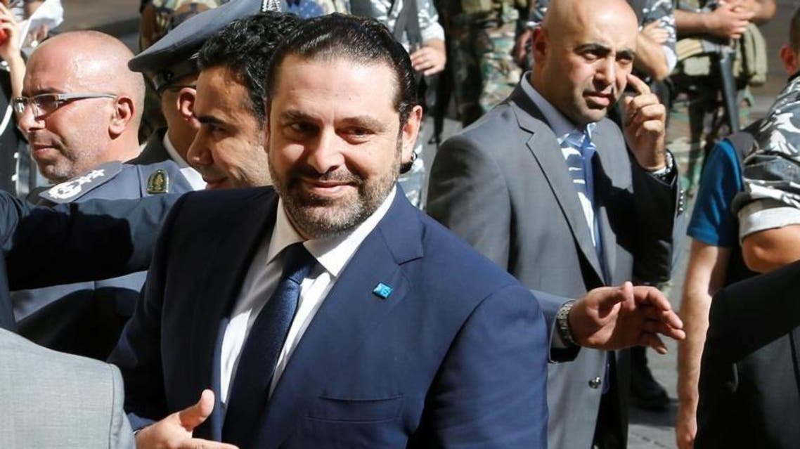 saad hariri Lebanon PM Reuters