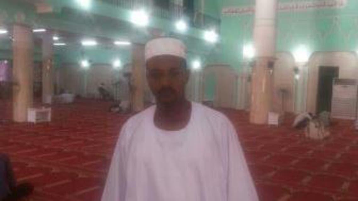 صورة لعبدالعظيم في احد مساجد السعودية