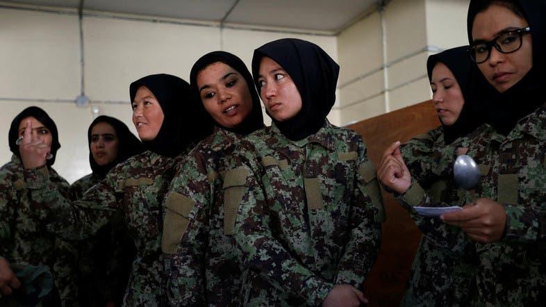 Women in Afghan army overcome opposition, threats - Al Arabiya English