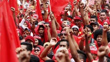 Malaysia's 'Red Shirts' protest against media group over funding claims