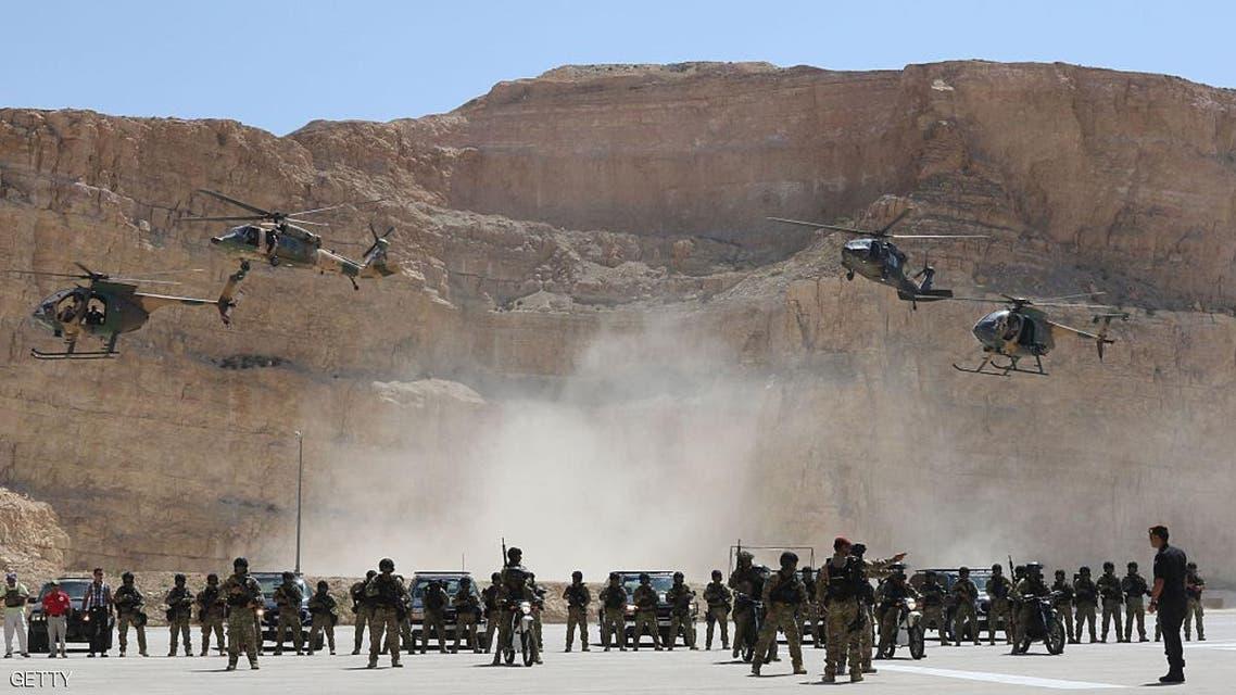 تمرين عسكري مصري أردني