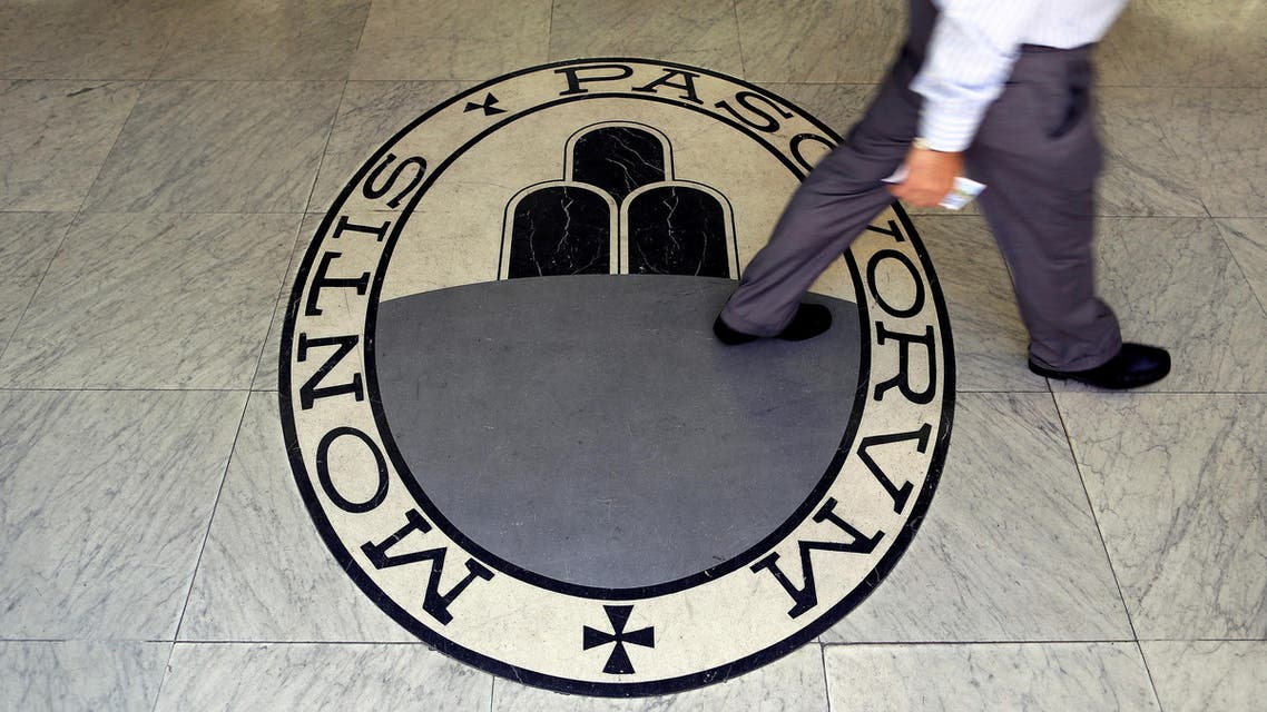 بنك مونتي دي باشي دي سيينا إيطاليا الايطالي الإيطالي