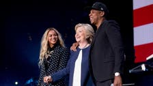 Clinton hangs with Beyonce, Trump says he's fine by himself