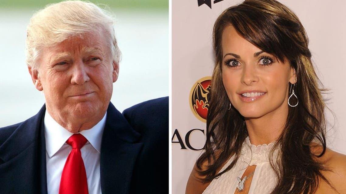 الموديل أكدت أن علاقة رومانتيكية ربطتها مع ترامب قبل عقد