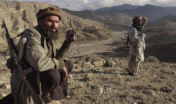 عناصر من القاعدة في أفغانستان