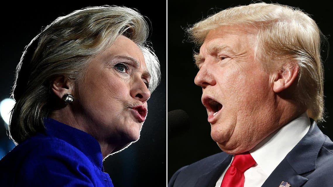 Trump US elections 2016 AFP Clinton