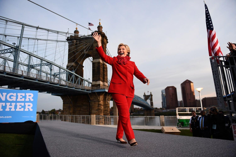 Trump US elections 2016 AFP Clinton