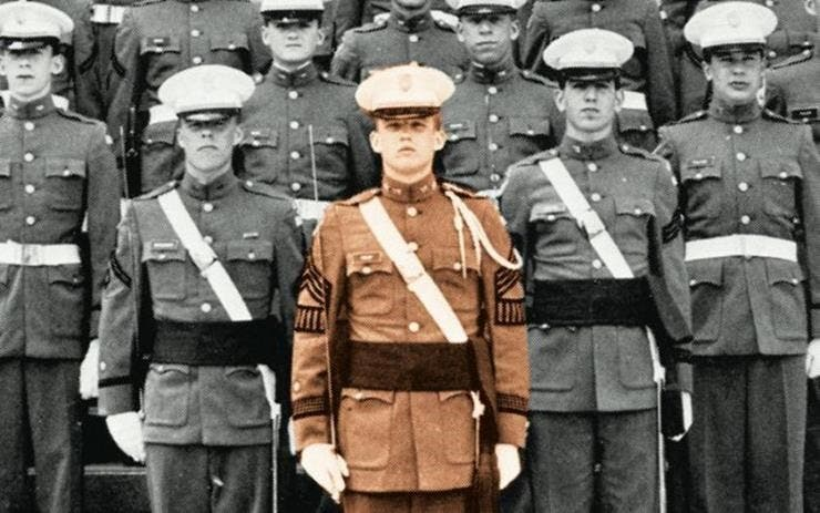 Truth 17: Once graduating, military school proved to have a positive impact on Trump's behavior, especially for his future.
