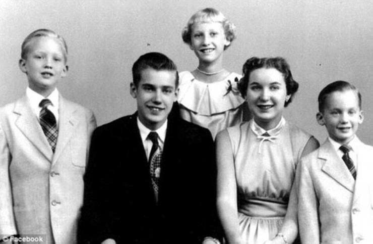 Truth 3: Donald Trump was the fourth born out of five children.