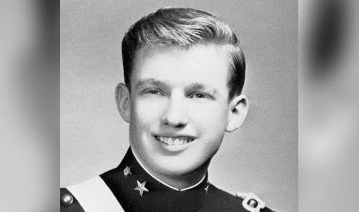 Truth 16: When he was in military school, Trump learned lessons the hard way in that teachers can give harsh penalties if they acted badly, to the point of beating.