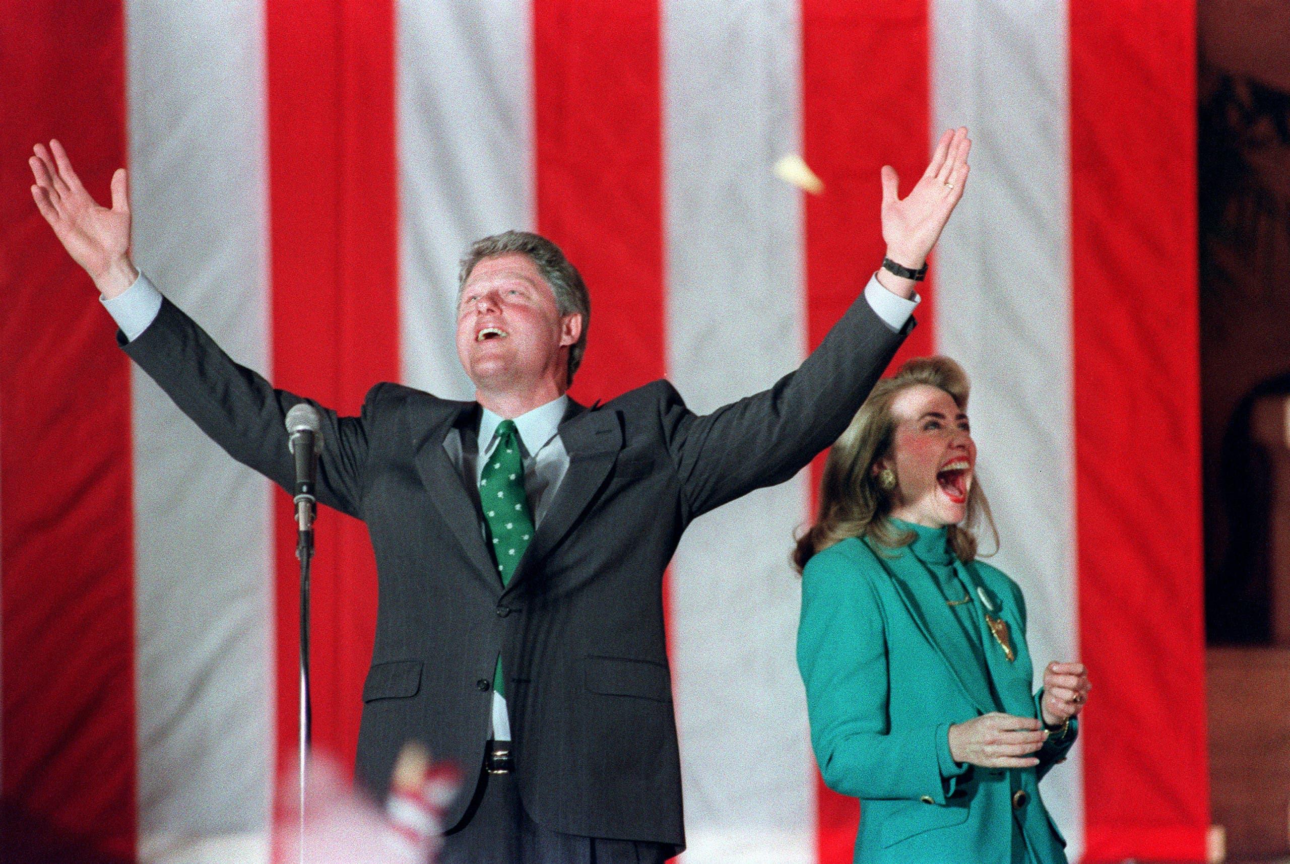 من حملة بيل للرئاسة في 1992