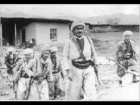 الزعيم التاريخي لأكراد العراق ملا مصطفى البارزاني