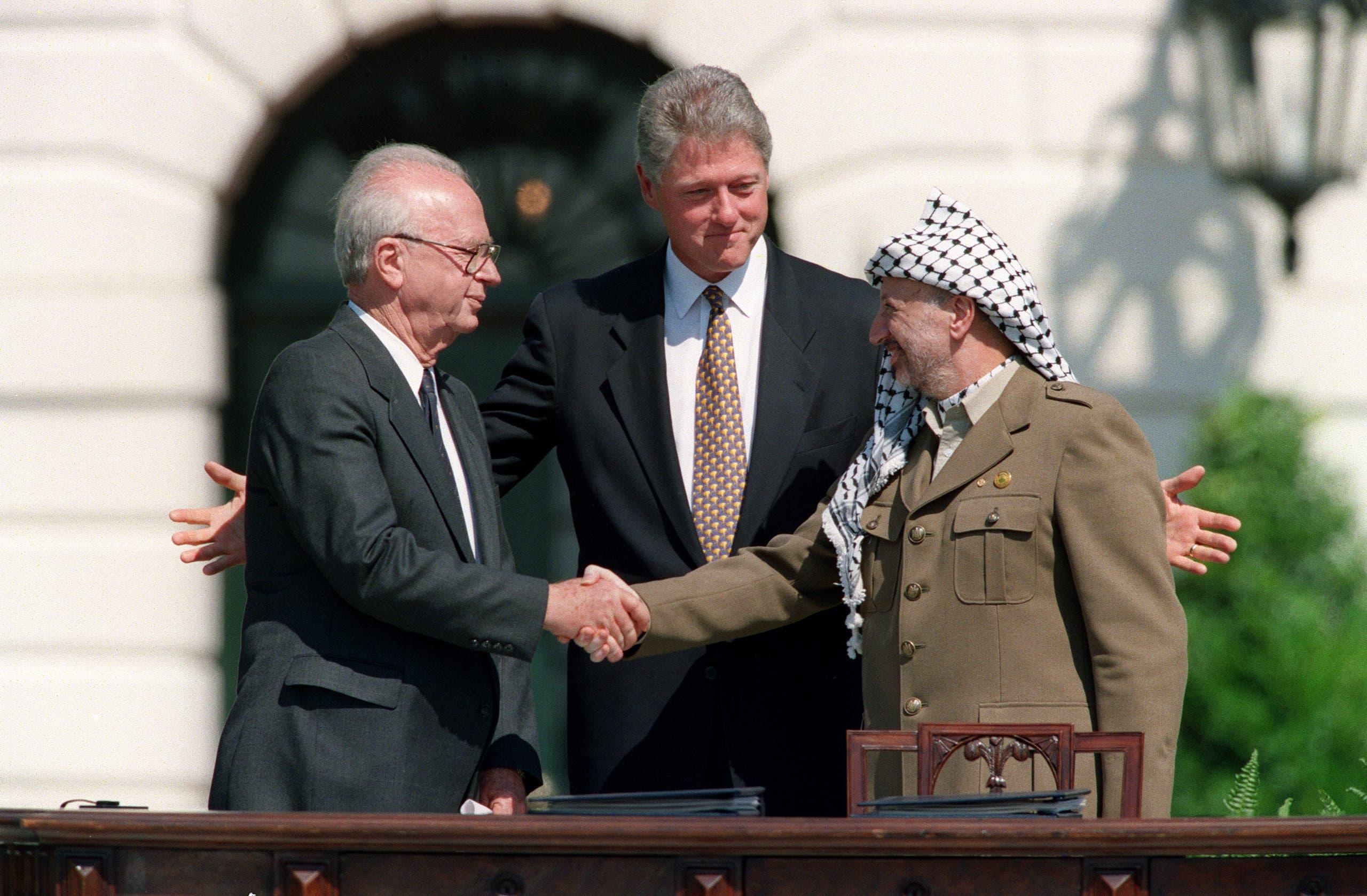 من توقيع اتفاق السلام في 1993