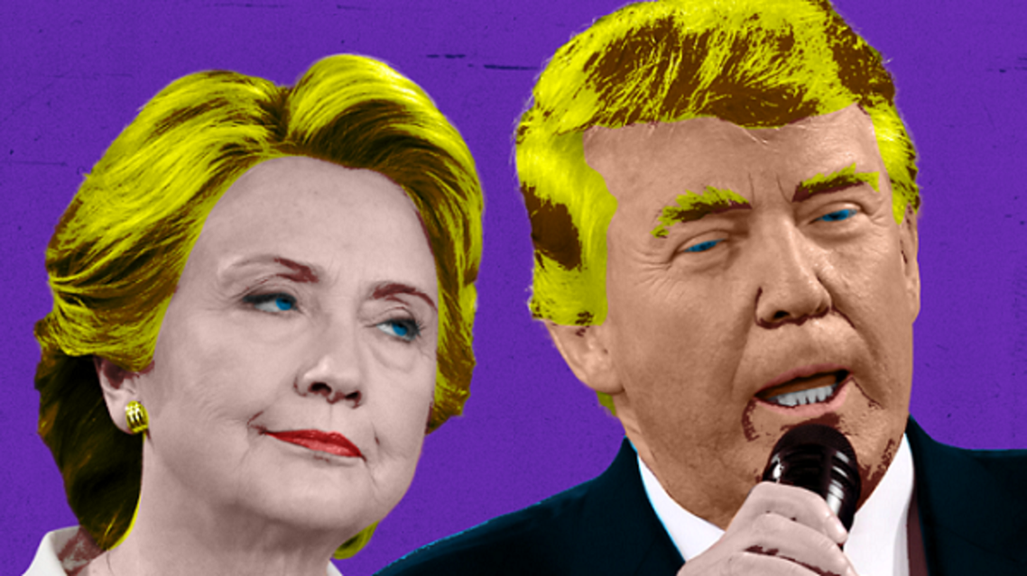 ترامب وهيلاري كلينتون، من يقرر هو المجمع الانتخابي