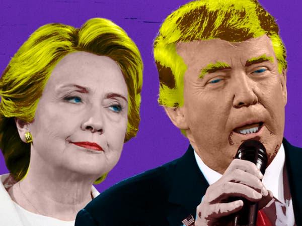 تراشق مرير بين ترمب وكلينتون حول انتخابات الرئاسة