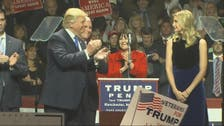 Trump and daughter address New Hampshire rally
