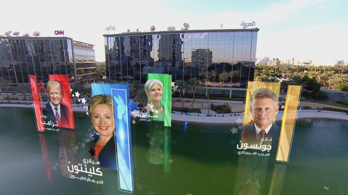 THUMBNAIL_ العربية تقدم اكبر شاشة عرض اخباري بالعالم