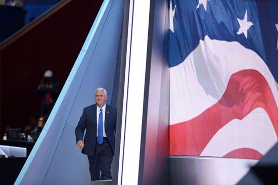 مايك بنس نائب الرئيس الأميركي المنتخب دونالد ترامب