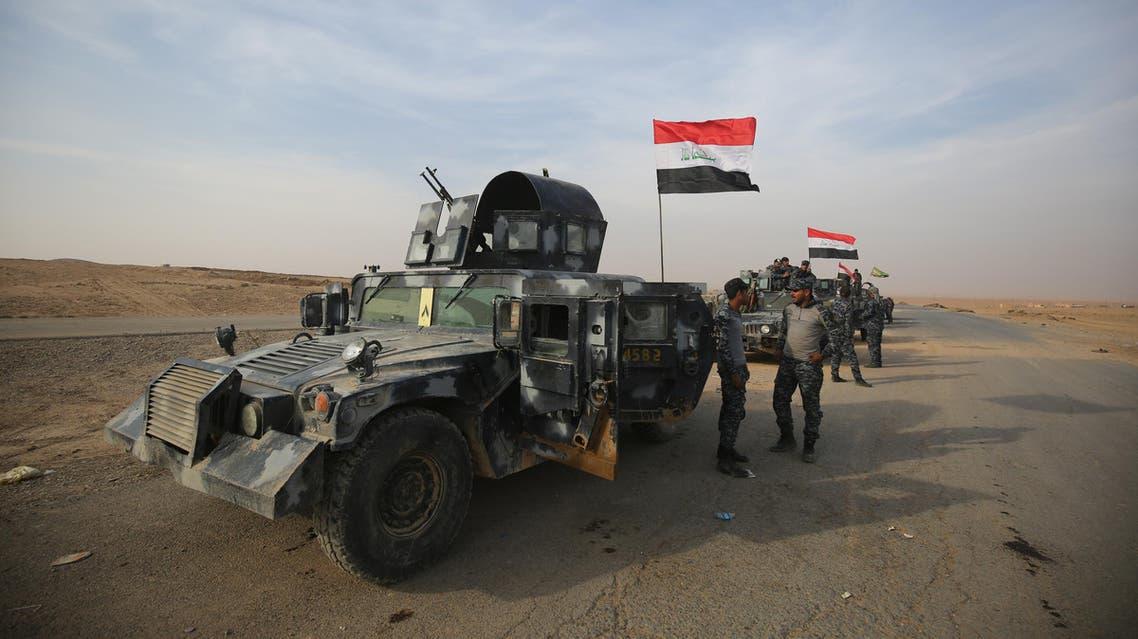 القوات العراقية جنوب الموصل - فرانس برس