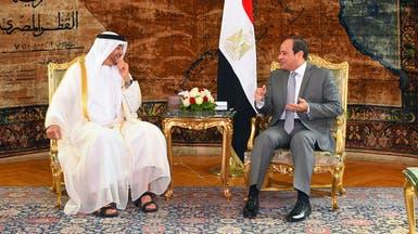 محمد بن زايد: علاقة مصر والخليج ركيزة لاستقرار المنطقة