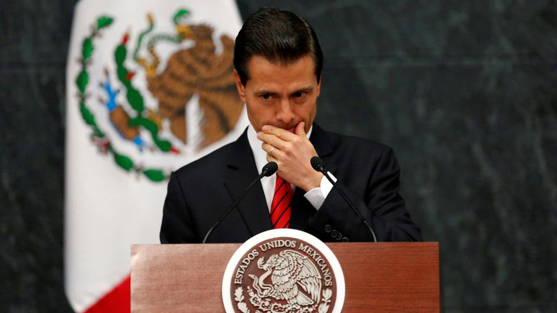 لرئيس المكسيكي انريكي بينا نييتو