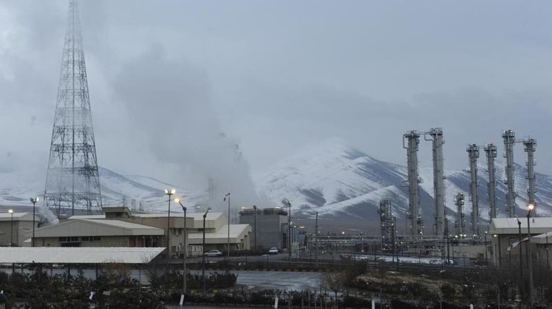 file photo shows the heavy water nuclear facility near Arak, Iran. Reuters