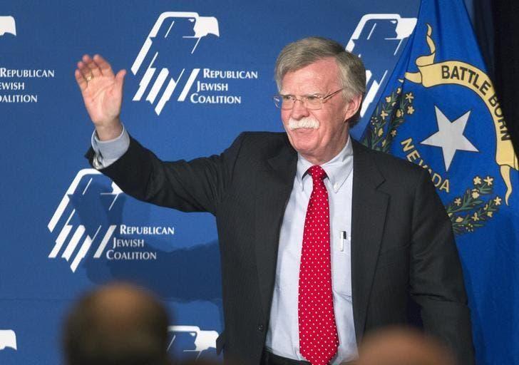 John Bolton reuters