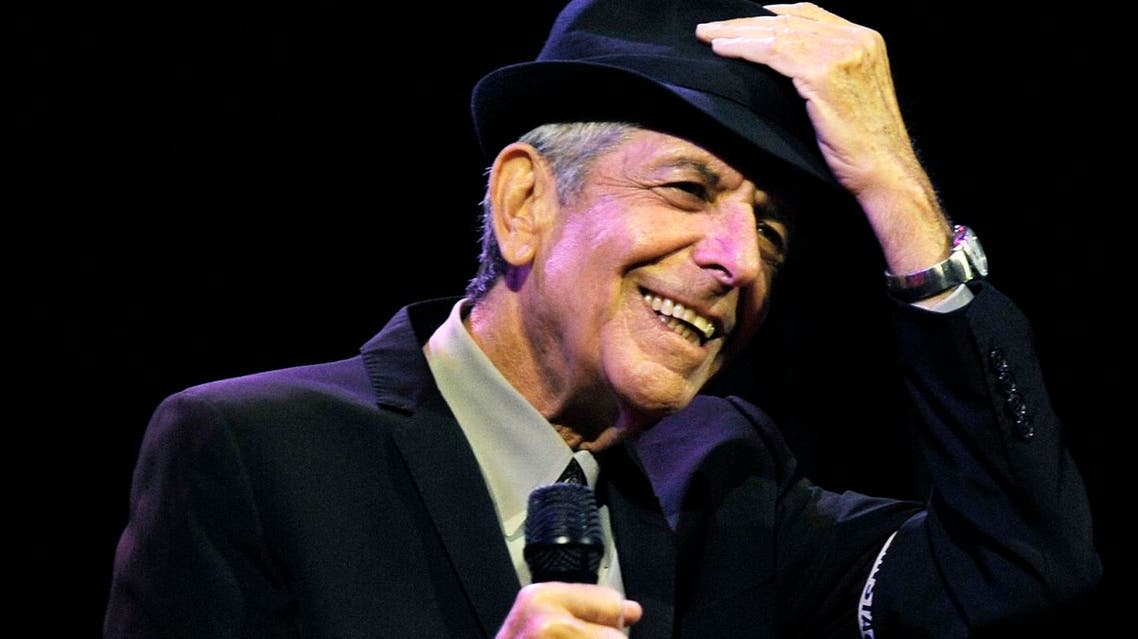 Leonard Cohen performs during the first day of the Coachella Valley Music & Arts Festival in Indio, Calif. Cohen (File Photo: AP/Chris Pizzello)