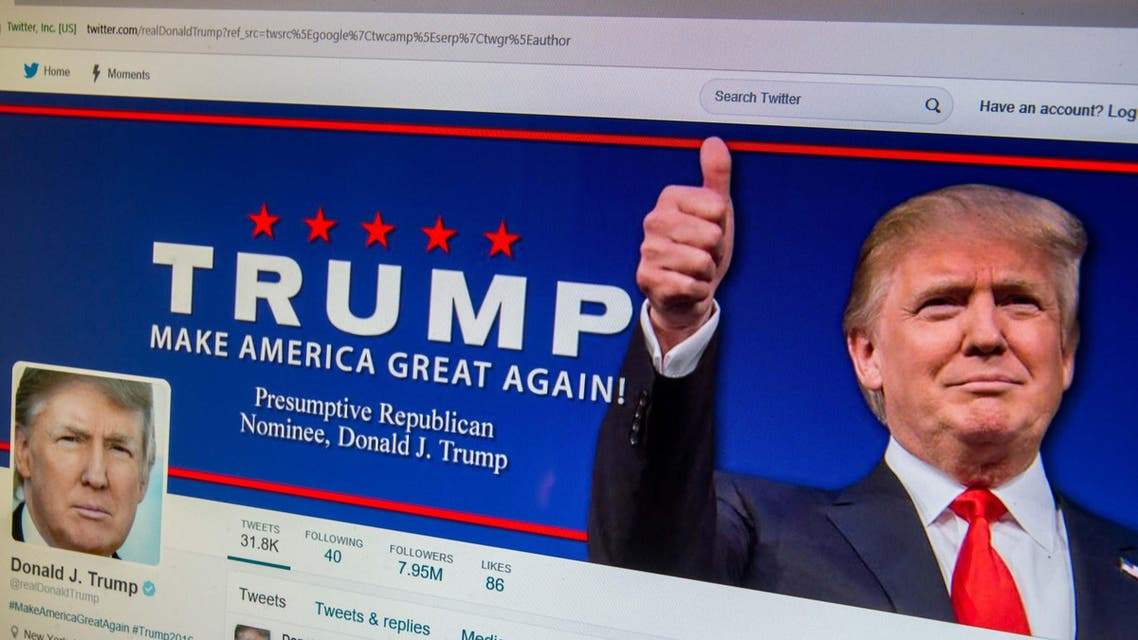 """""""The website was temporarily redirecting all specific press release pages to the home page,"""" Trump spokesman said. (Shutterstock)"""