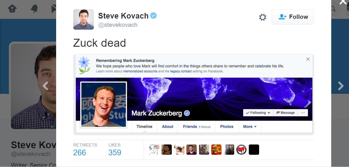 تغريدة على تويتر.. مات زوك