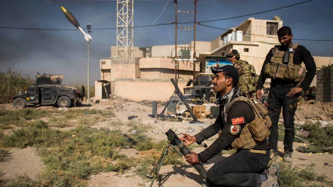 القوات العراقية في معارك الموصل - فرانس برس