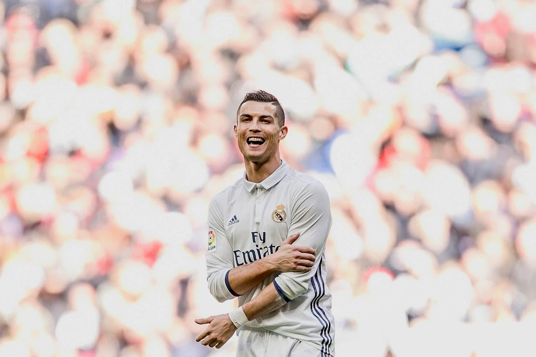 Real Madrid Cristiano Ronaldo reacts during a Spanish La Liga soccer match between Real Madrid and Leganes at the Santiago Bernabeu stadium in Madrid, Spain, Sunday, Nov. 6, 2016. (AP)
