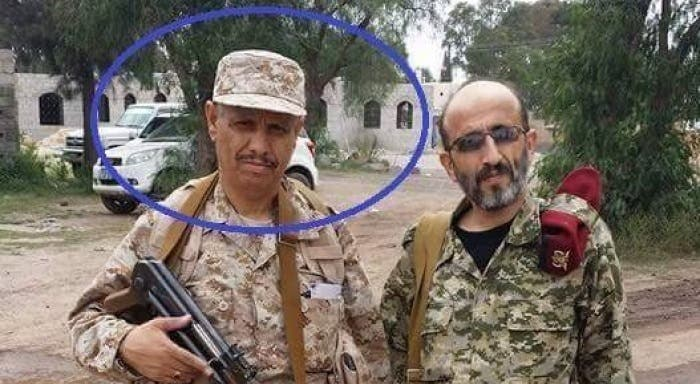 Sanaa University President Fawzi al-Sughair (left), who was appointed to his position by Houthi militias, also took part in the attack against the professors and researchers on campus. (Supplied)