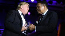 The Champ and the Trump! Donald's friendship with Muhammad Ali in pictures