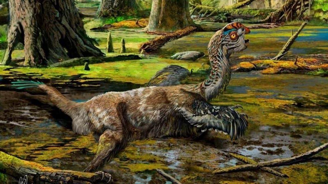 تنين الوحل ديناصور رويترز
