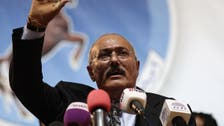 Yemen's ousted Saleh voices anger at peace efforts