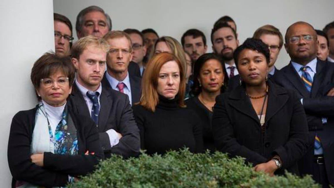 وائٹ ہائوس میں اوباما کا سٹاف