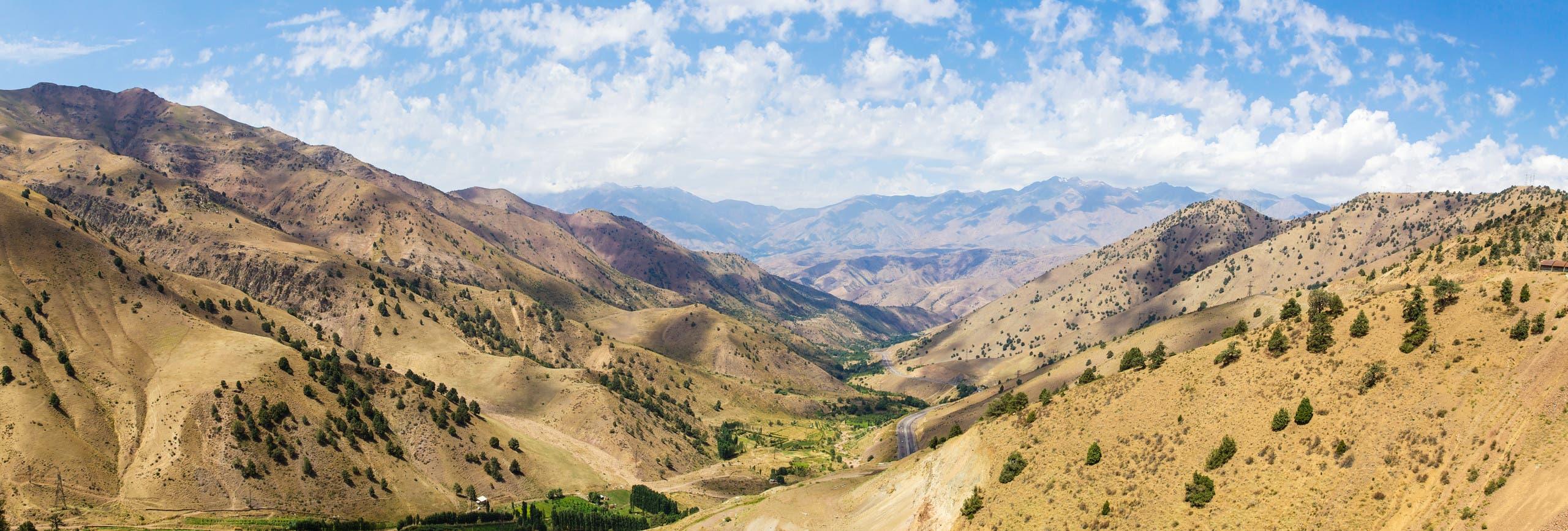 جانب من وادي فرغانة