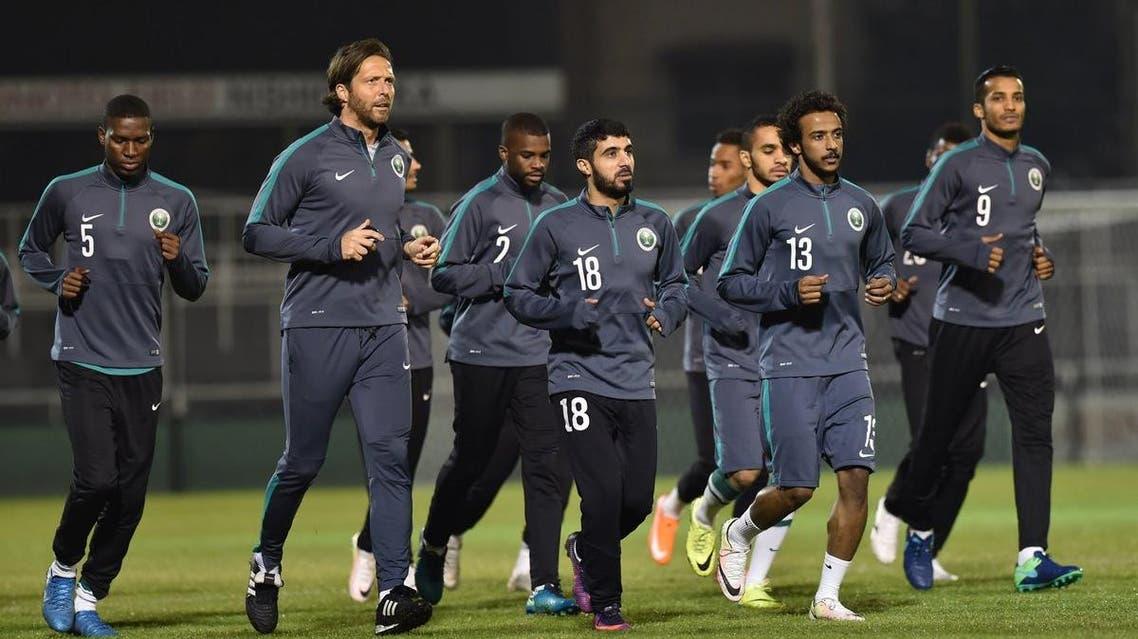 المنتخب السعودي الأخضر