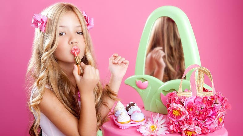 Why do teen girls have to wear make-up?