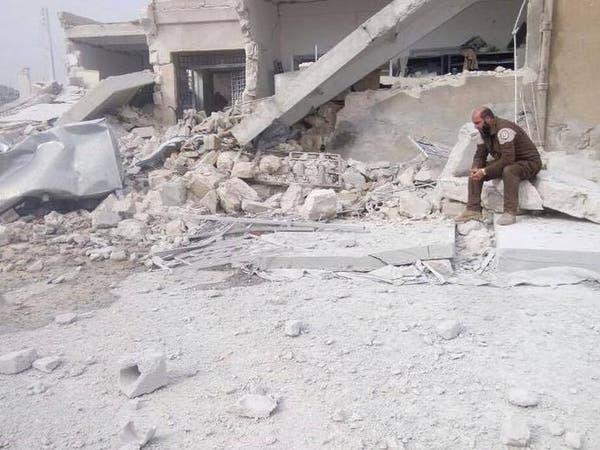 حلب.. استهداف مشفيين في الريف الغربي