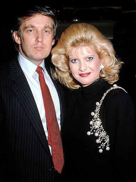 إيفانا وترمب انفصلا عام 1992