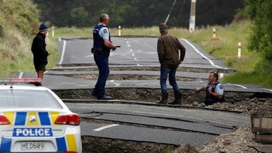 "بالصور.. زلزال نيوزيلندا يخلف ""دماراً هائلاً"""