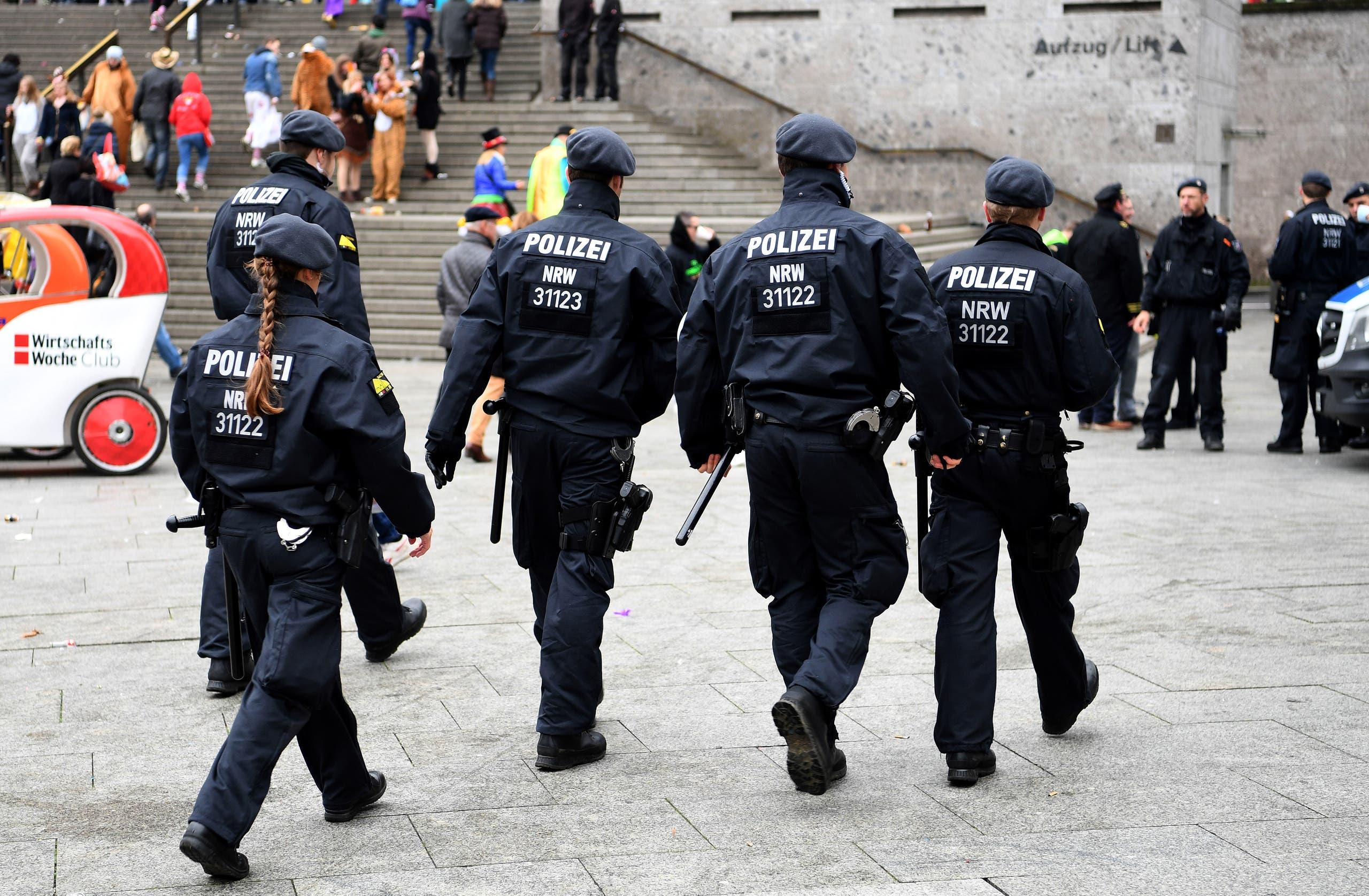 عناصر من الشرطة الألمانية - فرانس برس