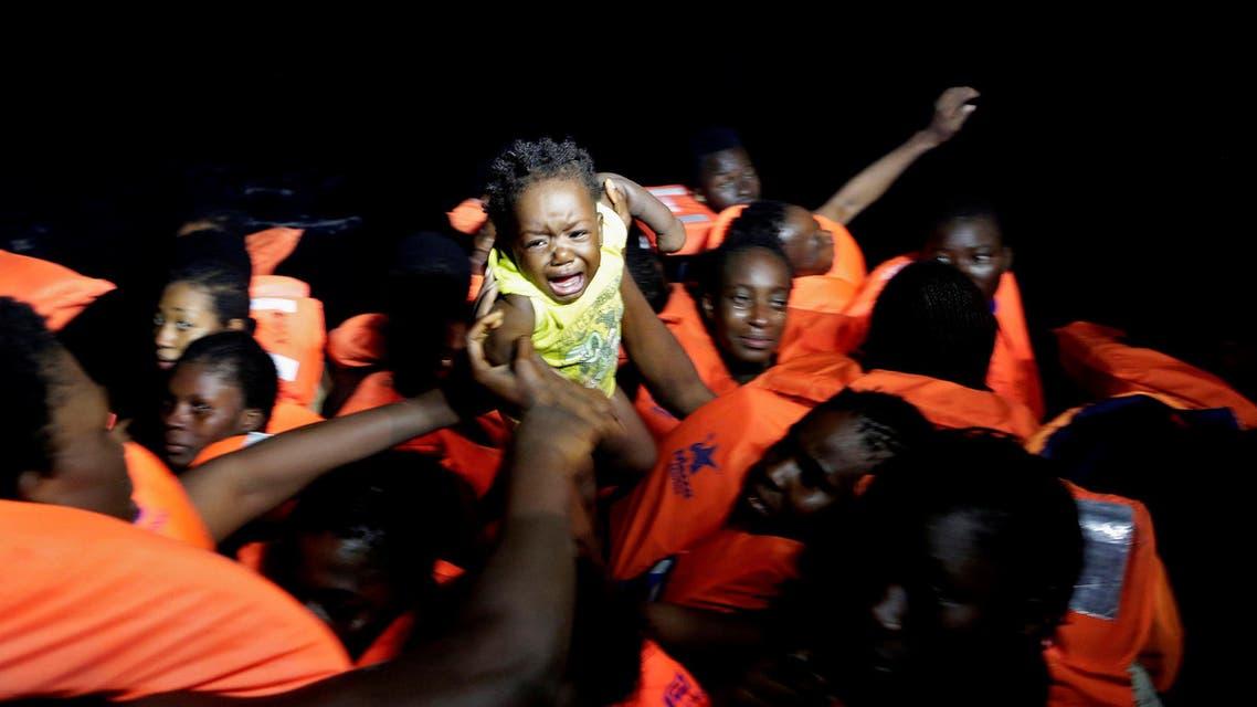 Migrants libya Mediterranean Reuters