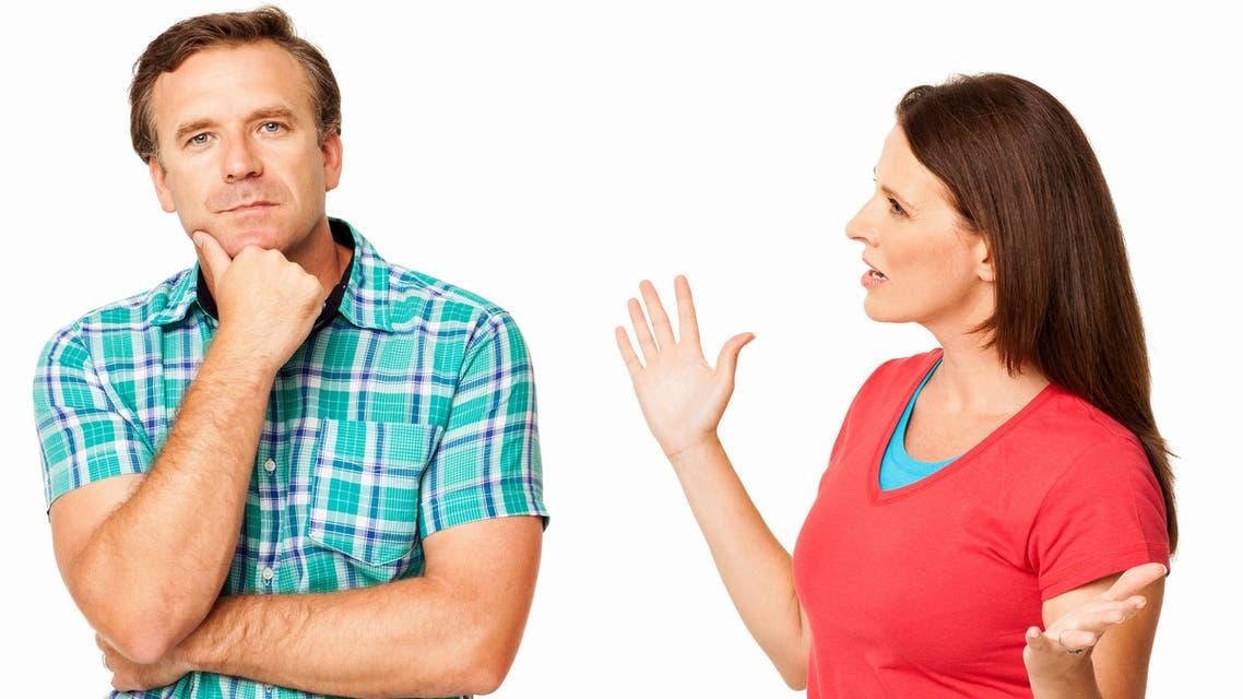الزواج زواج زوج زوجة طلاق الطلاق الاستماع COUPLE HUSBAND WIFE LISTENING DISPUTE شجار شجار