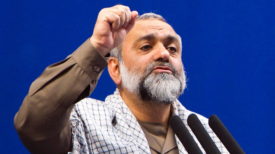 Mohammad Reza Naghdi said that Trump represents 'the real face of the US and he may accelerate collapse of the US'. (Reuters)